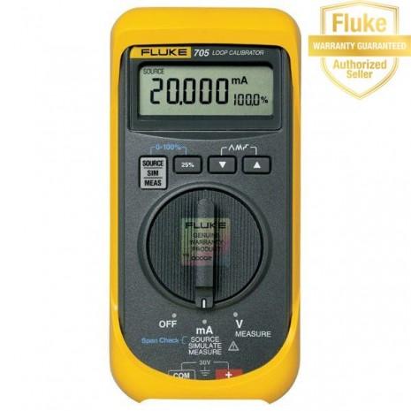 Máy phát điện áp và dòng chuẩn Fluke 705