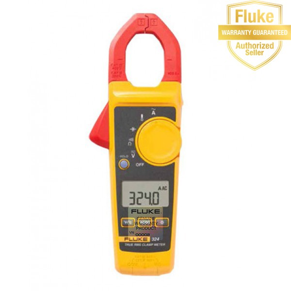 Ampe kìm số điện tử AC ampe Fluke 324