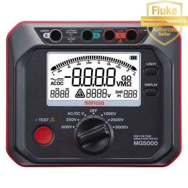 Thiết bị đo cách điện High Volt  5000V- Sanwa MG 5000