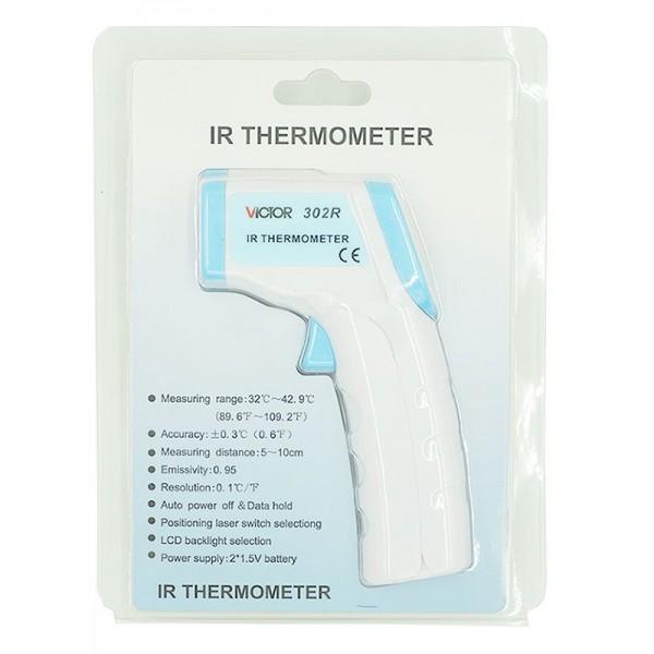 Nhiệt kế hồng ngoại đo thân nhiệt VICTOR 302R