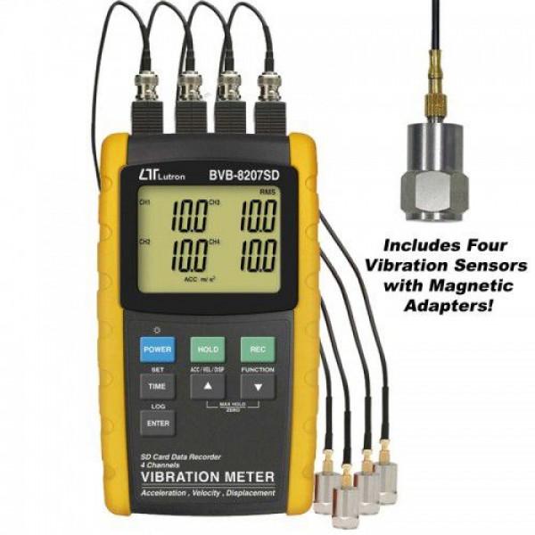 Thiết bị đo độ rung LUTRON BVB-8207SD