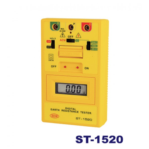 Thiết bị đo điện trở đất hiện số điện tử ST-1520