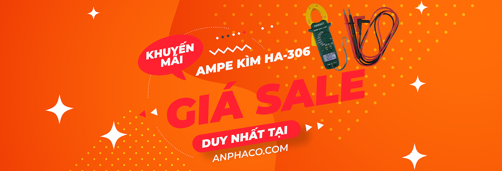 Ampe kìm Accutest HA-306