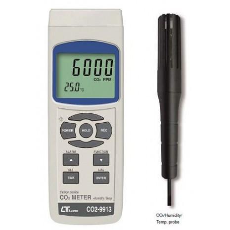 Máy đo nồng độ khí CO2 LUTRON CO2-9913