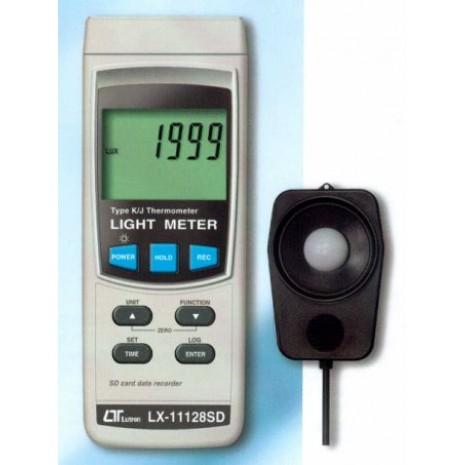 Máy đo ánh sáng LUTRON LX-11128SD, sd card recorder