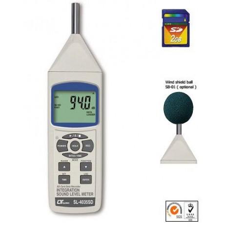 Máy đo tiếng ồn LUTRON SL-4035SD