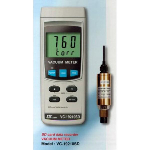 Máy đo áp suất chân không LUTRON VC-19210SD, SD card data recorder