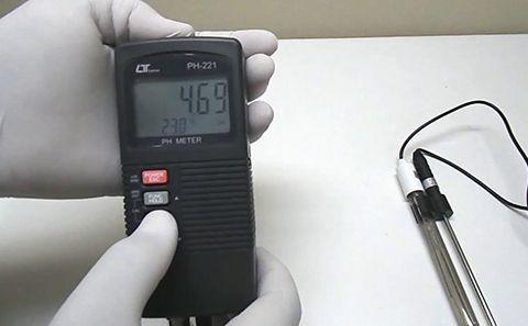 Cấu tạo và nguyên lý hoạt động của máy đo pH