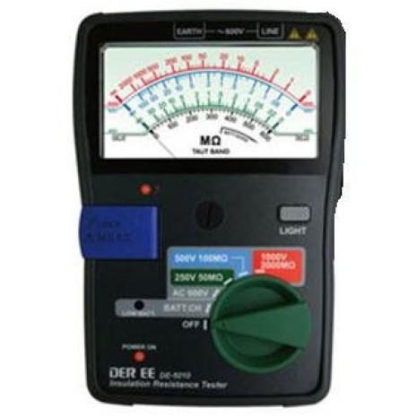 Thiết bị đo điện trở cách điện hiên kim DEREE DE 5010