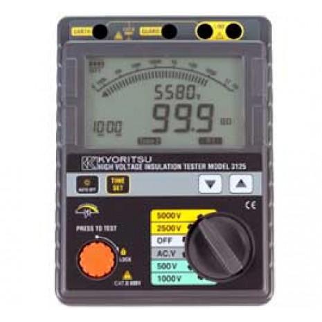 Thiết bị đo điện trở cách điện hiện số KYORITSU 3125
