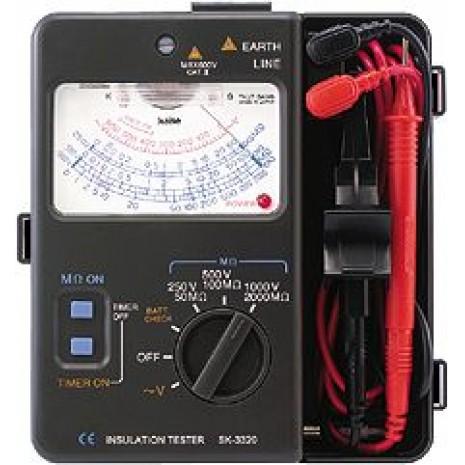 Thiết bị đo điện trở cách điện hiên kim SK 3320