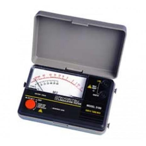 Thiết bị đo điện trở cách điện hiện kim KYORITSU 3166