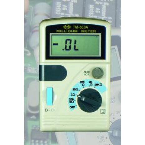 Thiết bị đo điện trở thấp TENMARS model TM 508A