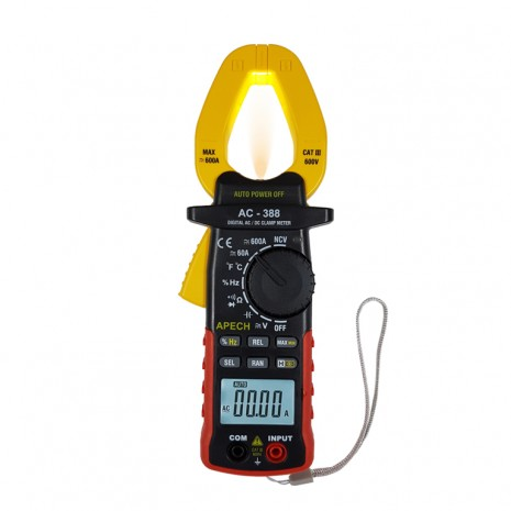 Ampe kẹp đo dòng điện AC/DC hiện số APECH AC 388