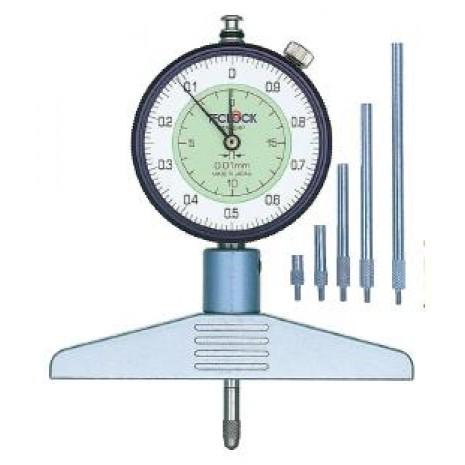 Thiết bị đo độ dày giấy, nylong, vải, da TECLOCK DM 224P