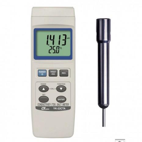 Thiết bị đo độ dẫn điện trong nước Lutron YK-22CTA