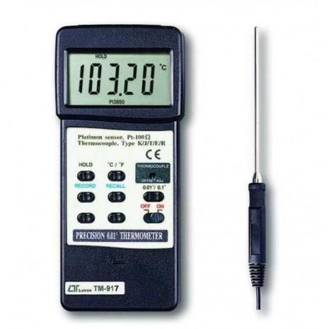 Thiết bị đo nhiệt độ cao LUTRON TM-917