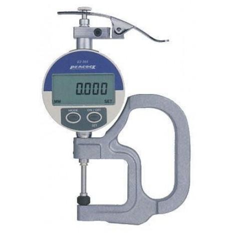 Thiết bị đo độ dày giấy, nylong, vải da PEACOCK G2 205