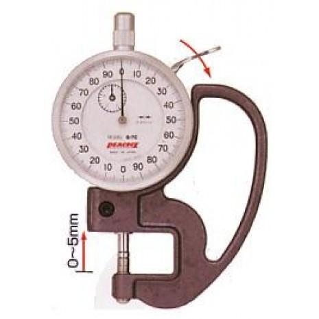 Thiết bị đo độ dày giấy, nylong, vải da PEACOCK G 7C