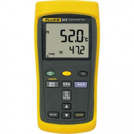 Thiết bị đo nhiệt độ cao Fluke 52 II