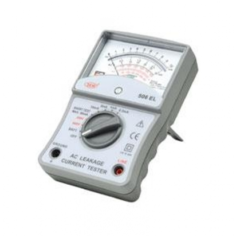 Thiết bị đo dòng rò dạng đồng hồ vạn năng kim SEW 507EL