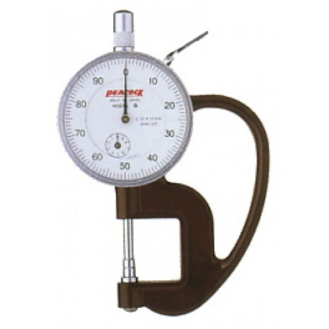Thiết bị đo độ dày giấy, nylong, vải, da PEACOCK G 1A