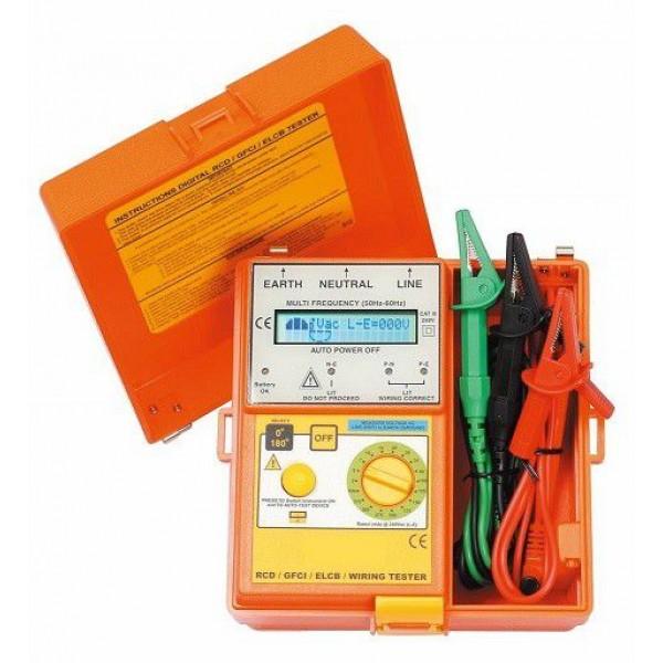 Thiết bị đo dòng rò cầu giao,bảng điện,ổ cắm dạng ELCD,LOOP,RCD  SEW 1812E