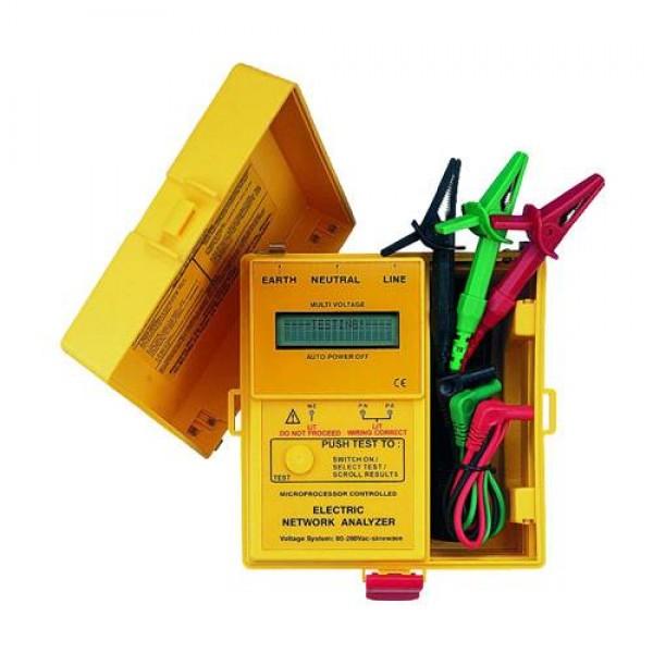 Thiết bị đo dòng rò cầu giao,bảng điện,ổ cắm dạng ELCD,LOOP,RCD  SEW 1825LP