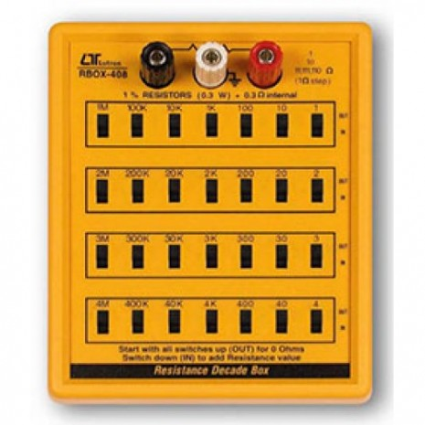 Bảng điện trở mẫu RBOX-408