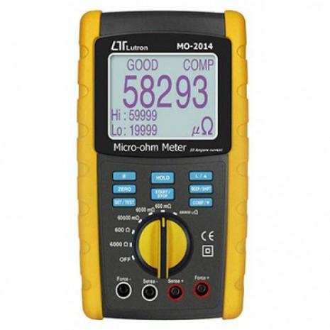 Đồng hồ đo điện trở thấp milli ohm LUTRON MO-2014