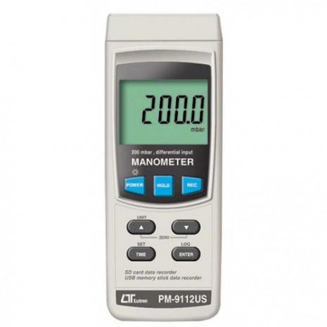 Thiết bị đo áp suất LUTRON PM-9112US