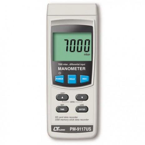 Thiết bị đo áp suất LUTRON PM-9117US