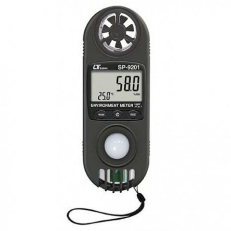 Máy đo gió, ánh sáng, áp suất, độ cao mực nước biển, nhiệt độ, đô ẩm (11 in 1) LUTRON SP-9201