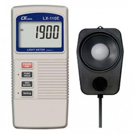Thiết bị đo cường độ ánh sáng, nhiệt độ K Lutron LX-110E