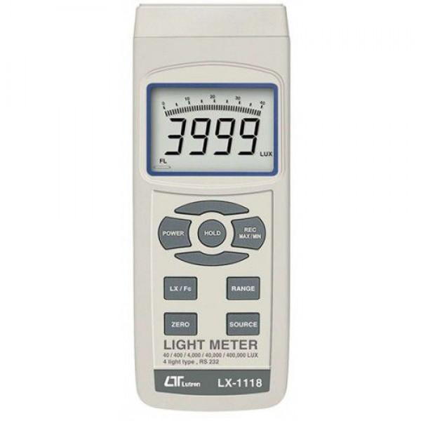 Thiết bị đo cường độ ánh sáng Lutron LX-1118