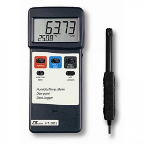 Máy đo nhiệt độ, độ ẩm môi trường, nhiệt độ điểm sương LUTRON HT-3015