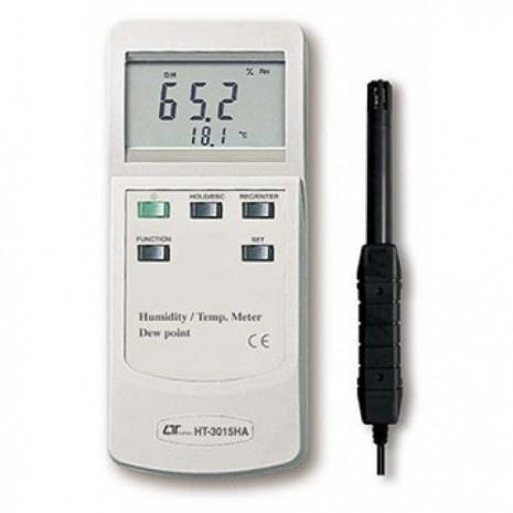 Máy đo nhiệt độ, độ ẩm môi trường, nhiệt độ điểm sương LUTRON HT-3015HA