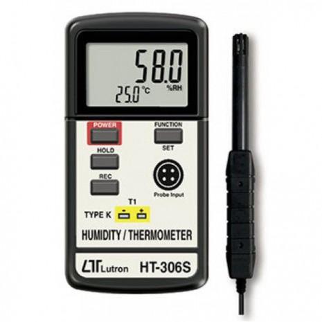 Máy đo nhiệt độ, độ ẩm môi trường, nhiệt độ điểm sương LUTRON HT-306S