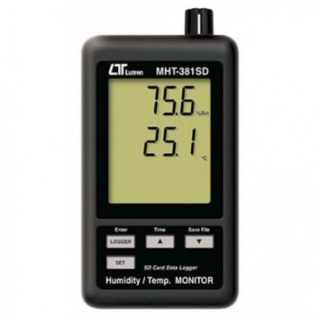 Máy đo nhiệt độ, độ ẩm LUTRON MHT-381SD