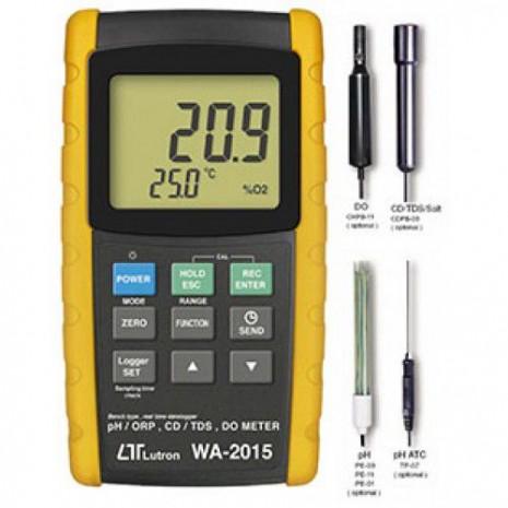Thiết bị đo pH/ORP, DO, CD/TDS model LUTRON WA-2015