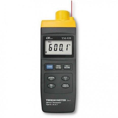 Thiết bị đo nhiệt độ bằng tia hồng ngoại LUTRON TM-939