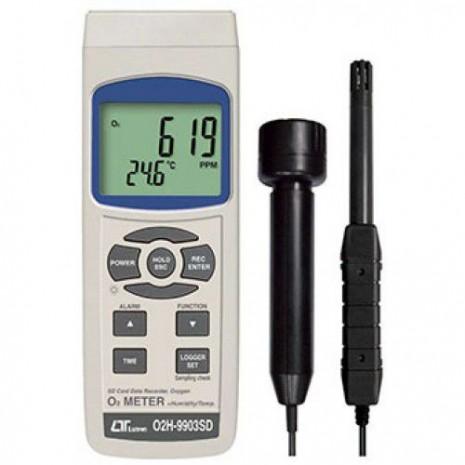 Máy đo nồng độ oxy, nhiệt độ, độ ẩm Lutron O2H-9903SD