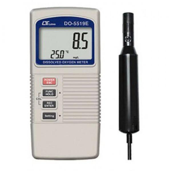 Máy đo nồng độ oxy trong không khí, trong nước LUTRON DO-5519E