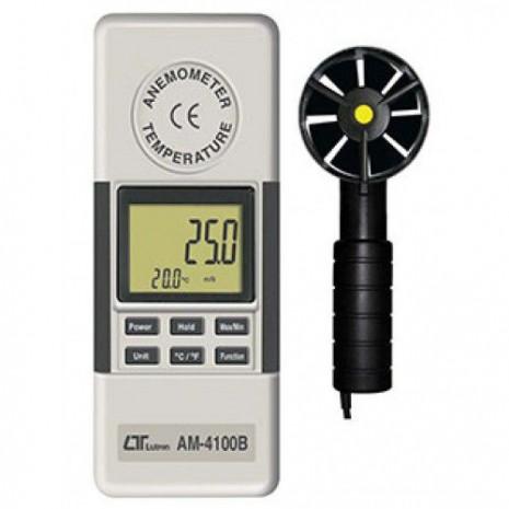 Thiết bị đo tốc độ gió, nhiệt độ môi trường AM-4100B