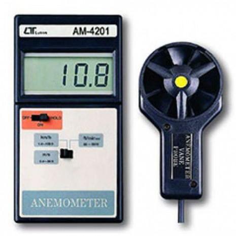 Thiết bị đo tốc độ gió, nhiệt độ môi trường AM-4201