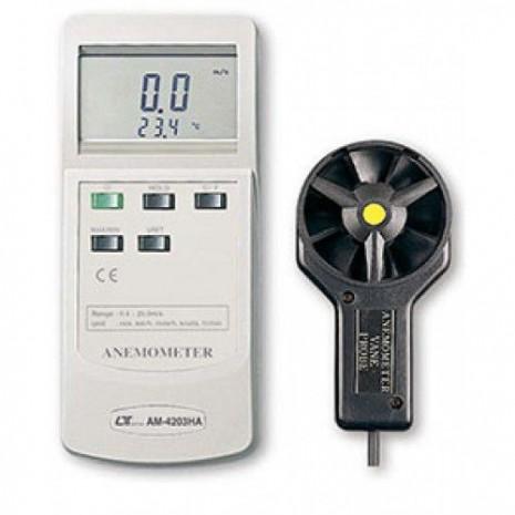 Thiết bị đo tốc độ gió, nhiệt độ môi trường AM-4203HA