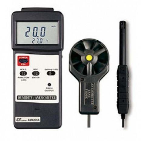 Thiết bị đo tốc độ gió, nhiệt độ, độ ẩm môi trường AM-4205A