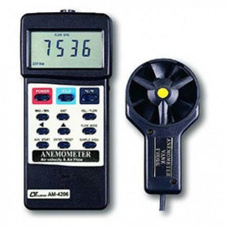 Thiết bị đo tốc độ gió, lưu lượng gió, nhiệt độ môi trường AM-4206
