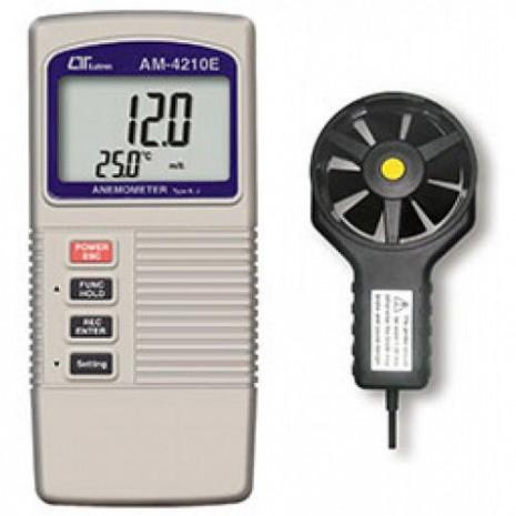 Thiết bị đo tốc độ gió, nhiệt độ AM-4210E