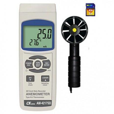 Thiết bị đo tốc độ gió, nhiệt độ AM-4217SD